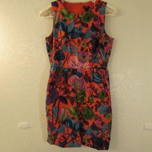 J. Crew Factory Sleeveless Floral Dress Sz 2